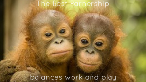 The Best Partnership Balances Work and Play