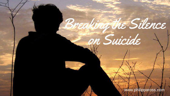 Breaking the Silence on Suicide